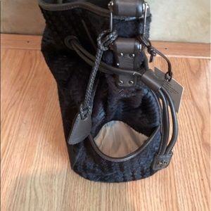 Cole Haan Bags - Cole Haan Calf Hair/ Leather Shoulder Bag